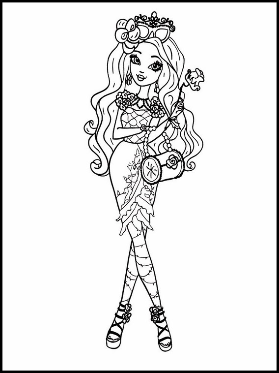 ever after high para colorir 3