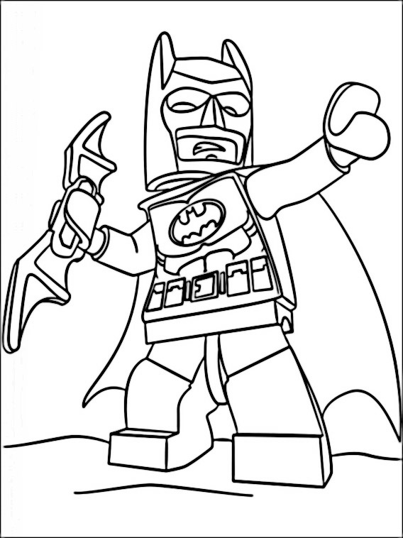 Image Result For Lego Batman Movie Coloring Pages Printable
